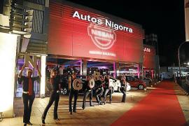 Nissan brilla en Autos Nigorra
