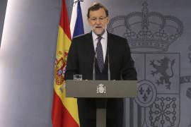 Rajoy garantiza que no tendrá efecto la propuesta independentista