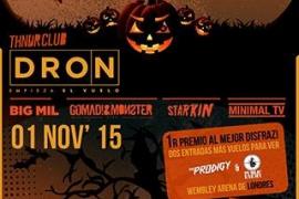 Música electrónica con Dron para celebrar Halloween en Es Gremi
