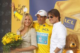 Cavendish logra su cuarto triunfo y Contador sigue líder