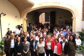 Zaida Cantera defiende en Palma el «sueño» del PSOE tras una «pesadilla» de legislatura