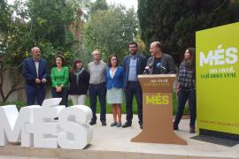 Més inicia la campaña de recogida de avales tras presentar a sus candidatos, Toni Verger  y Sara Martín