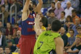 El Barcelona y el Baskonia siguen invictos en la Liga Endesa