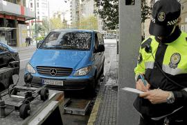 La policía y los trabajadores de la ORA de Palma cursaron 224.097 denuncias en 2014