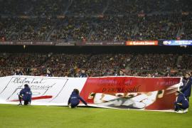 Entidades civiles reclaman a la UEFA que permita exhibir 'esteladas' en el Camp Nou