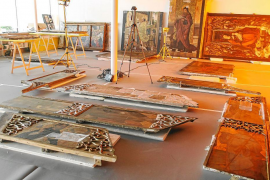 El retablo de Jesús recupera todo su esplendor