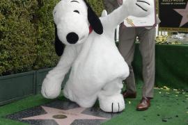 Estrella de la fama para Snoopy
