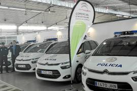 Comercial Citroën entregó una flota de C4 Picasso a la Policía Local
