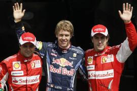 Alonso (Ferrari):  «Los puntos se juegan el domingo»