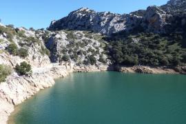 Restringido el acceso a los torrentes del Gorg Blau  y el de Pareis por el aumento del caudal de agua