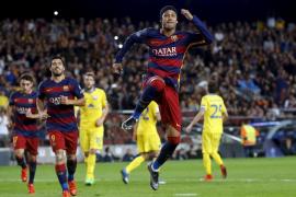 Neymar y Suárez llevan al Barça a las puertas de los octavos de final