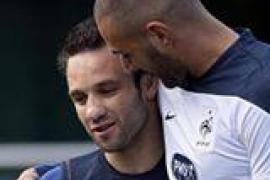 Valbuena cuelga en Facebook una foto junto a Benzema