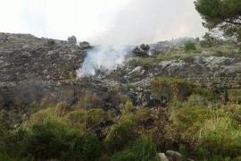 Incendio entre Campanet y Pollença