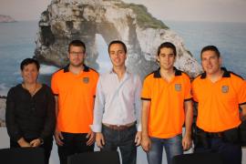 Santanyí subvenciona un curso de rescates en Galicia a voluntarios de Protección Civil