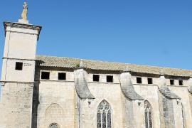 Las obras de la basílica de Sant Francesc empiezan por el tejado