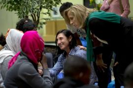 Llega a Madrid procedente de Italia el primer grupo  de refugiados