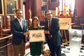 La ONCE dedica el cupón del próximo lunes a Palma y al Castell de Bellver