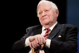 Fallece a los 96 años el excanciller de Alemania Helmut Schmidt