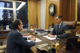 El Rey modifica su agenda para estar atento al Consejo de Ministros
