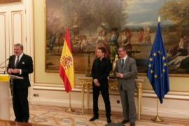 Jorge Lorenzo recibe la Medalla de Oro al Mérito Deportivo