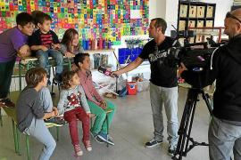 'Juntos' en el colegio de S'Olivera para luchar contra el cáncer