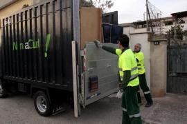 Emaya inicia el día 1 el servicio de recogida de  trastos en la calle