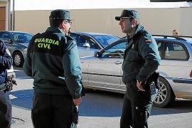 Intensa búsqueda del detenido que huyó del cuartel de la Guardia Civil de Llucmajor