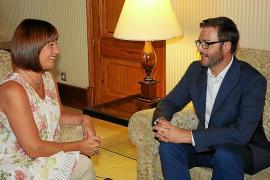 Cort no logra arañar ni un euro para la Capitalidad en la reunión con el Govern