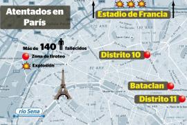 Los atentados de este viernes en París, de los más graves sucedidos en Europa