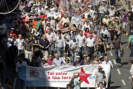 Miles de gallegos  proclaman el «orgullo de ser nación» en Santiago