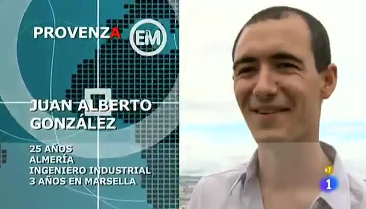 Juan Alberto González, fallecido en los atentados de París, participó en 'Españoles por el mundo'