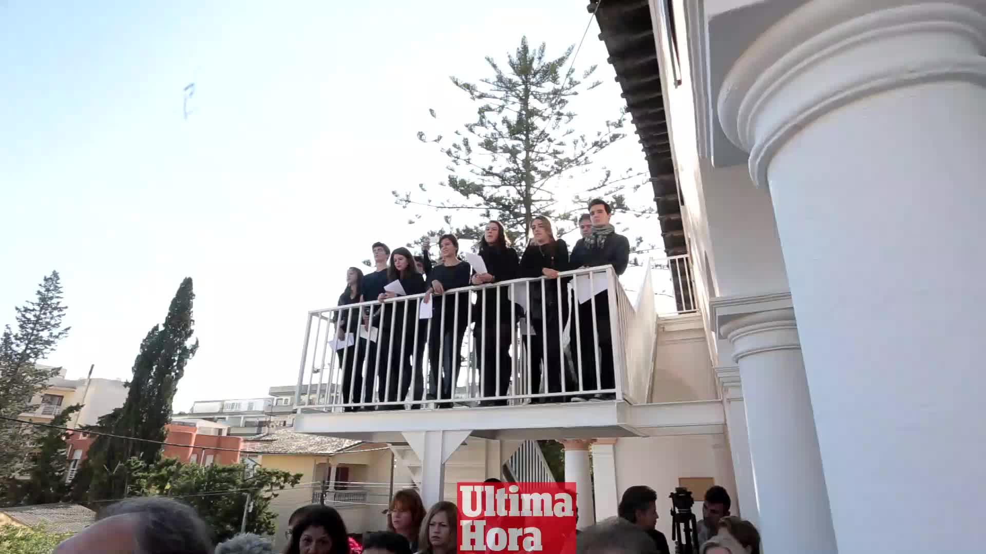 Balears se solidariza con el pueblo francés