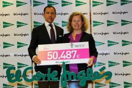 El Corte Inglés dona 50.000 euros para la lucha contra el cáncer de mama