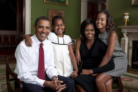 Michelle Obama visitará a los Reyes en España