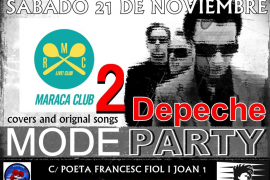 La 2ª Depeche Mode Party se celebra en el Maraca Club