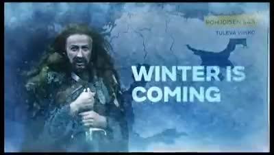 Un hombre del tiempo caracterizado como Ned Stark pronostica que «se acerca el invierno»