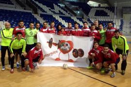 El Palma Futsal se vuelca con el niño enfermo Izan