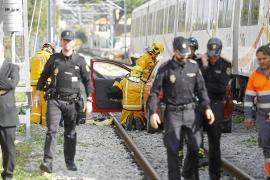 Los trabajadores del tren, «sorprendidos» porque el Govern solo culpa al maquinista