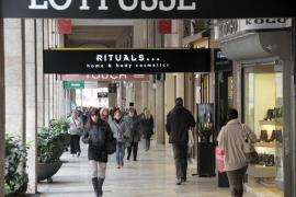 Jaume III se mantiene entre las calles comerciales más caras de España