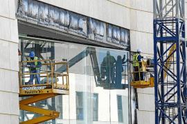 Acciona ordena paralizar las obras del Palacio de Congresos a partir del lunes