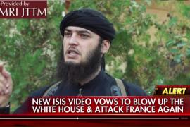 EI amenaza en un vídeo con atacar la Casa Blanca, Roma y de nuevo París
