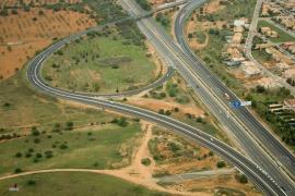 Terminadas las obras del tramo de Vía Conectora a la altura de Alcampo de Marratxí