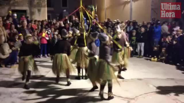 Los bailes de los 'Indis' animan Manacor