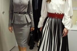 Las reinas Letizia y Rania de Jordania