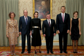 Reyes de España y Jordania