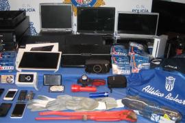 Tres detenidos por robos en el centro de Palma