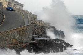 Mallorca registra rachas de viento de hasta 118 kilómetros por hora
