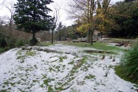 La nieve llega a la Serra