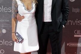 Richard Gere presume de novia española en la presentación de su última película