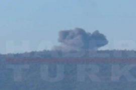 Turquía derriba un avión de combate ruso en el norte de Siria tras violar su espacio aéreo